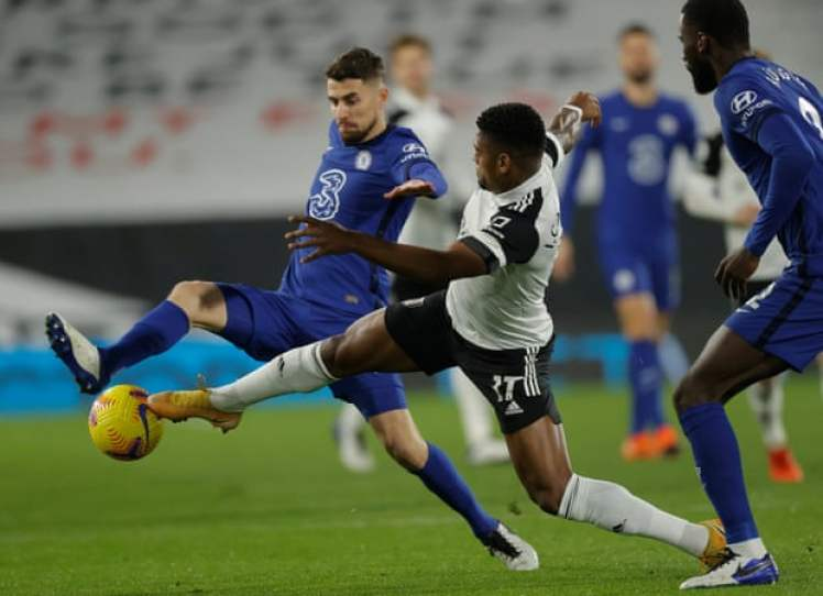 Chelsea and Fulham couldn't be separated in the first half. Photograph: Tom Jenkins/NMC Pool/The Guardian