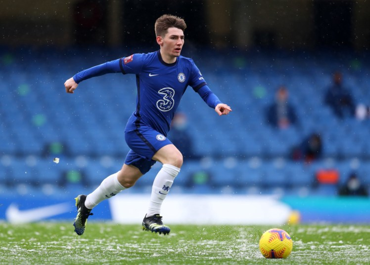 Billy Gilmour is very highly regarded at Chelsea.