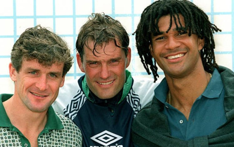 Ruud Gullit and Mark Hughes both starred in Southampton 2-3 Chelsea