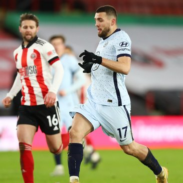 Mateo Kovacic roaming the midfield against Sheffield United