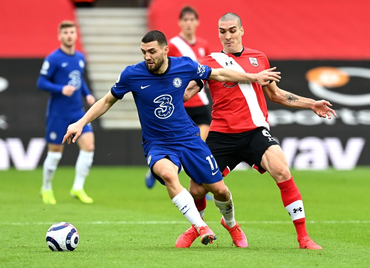 Mateo Kovacic impressed again but was outshone by N'golo Kante against Southampton