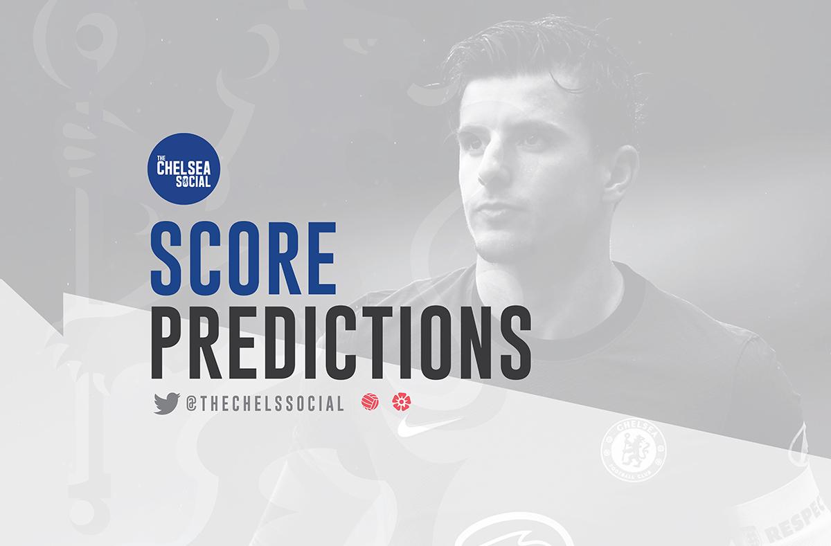 Score predictions for West Ham-Chelsea