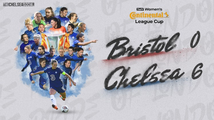 Bristol City 0-6 Chelsea Continental Cup Final Score Edit.
