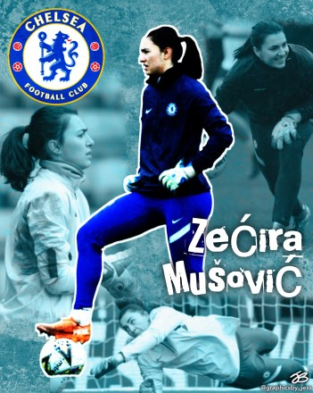Zecira Musovic: Sweden's Safest Pair of Hands/ (Edit by @graphicsby_jess)