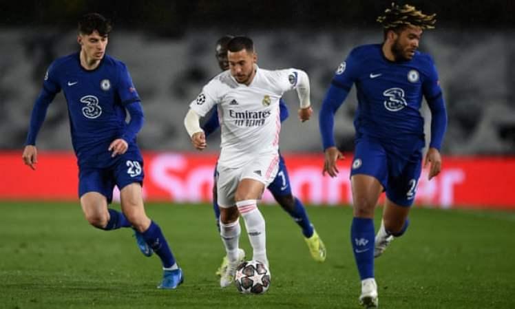 Eden Hazard plays against his former team.