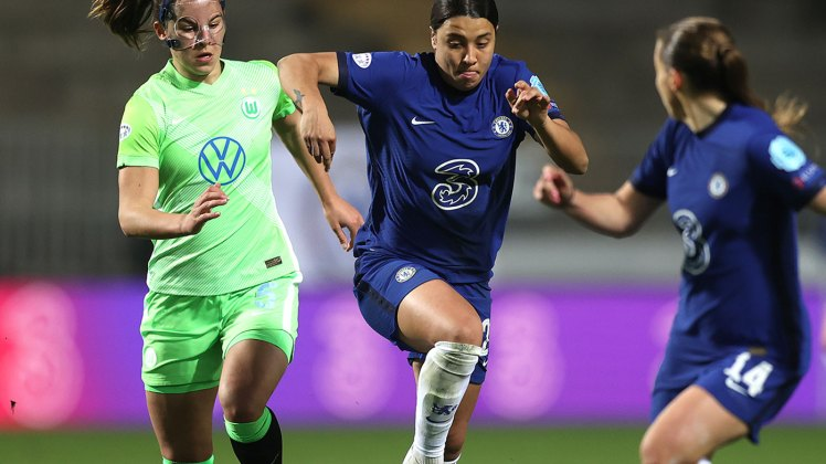 Man City vs Chelsea: Kerr-by - Sam Kerr and Fran Kirby - will be crucial to everything the Blues do against City.