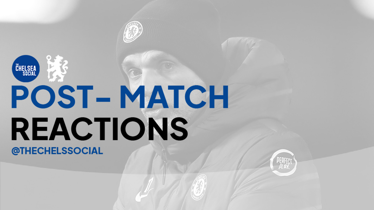 Post-Match Reactions by The Chelsea Social @CrawfDesign