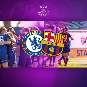 Blue against Blaugrana: It's Chelsea Women vs Barcelona Femeni for the UWCL title. Credit } FC Barcelona