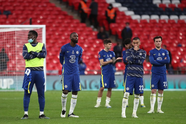 The Blues lose a second consecutive FA Cup Final in 2021. Credit | @ChampionsLeague (via Twitter)
