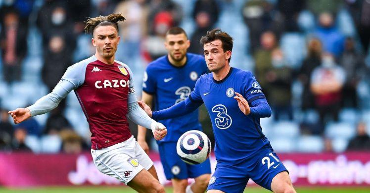 Ben Chilwell's finish makes it Aston Villa 2-1 Chelsea.