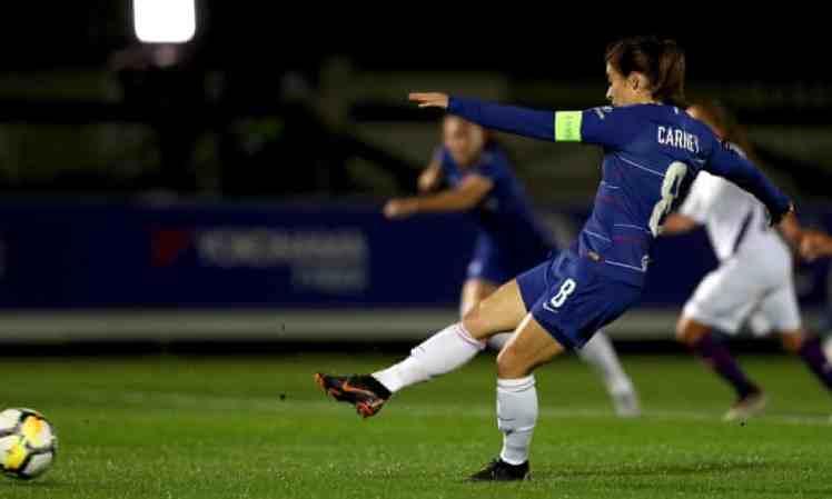 Karen Carney was excellent in the UEFA Women's Champions League.