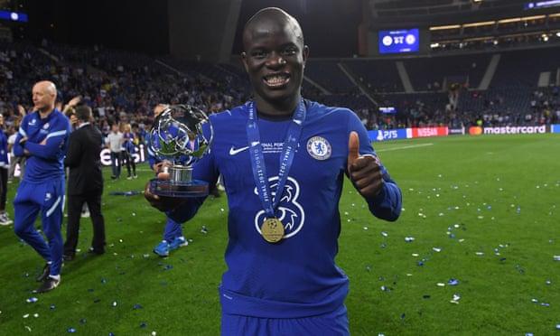 N'Golo Kante is named MOTM in Manchester City 0-1 Chelsea.