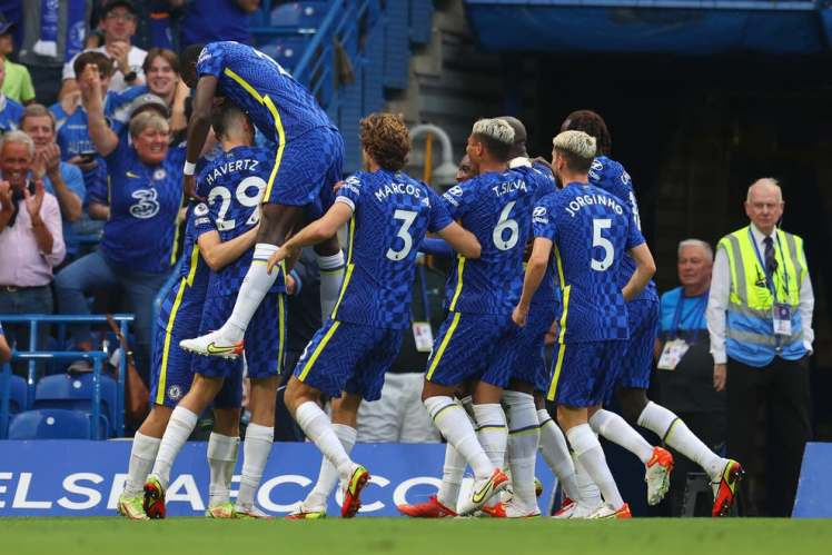 Chelsea continued an unbeaten start to the season with a 3-0 win over Aston Villa/Getty Images