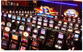 lots of slot machines