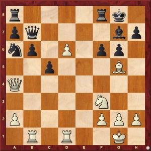 Passed Pawns in Middlegames: Kasparov-Pribyl diagram 2