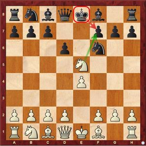 Chess Tactics king extraction