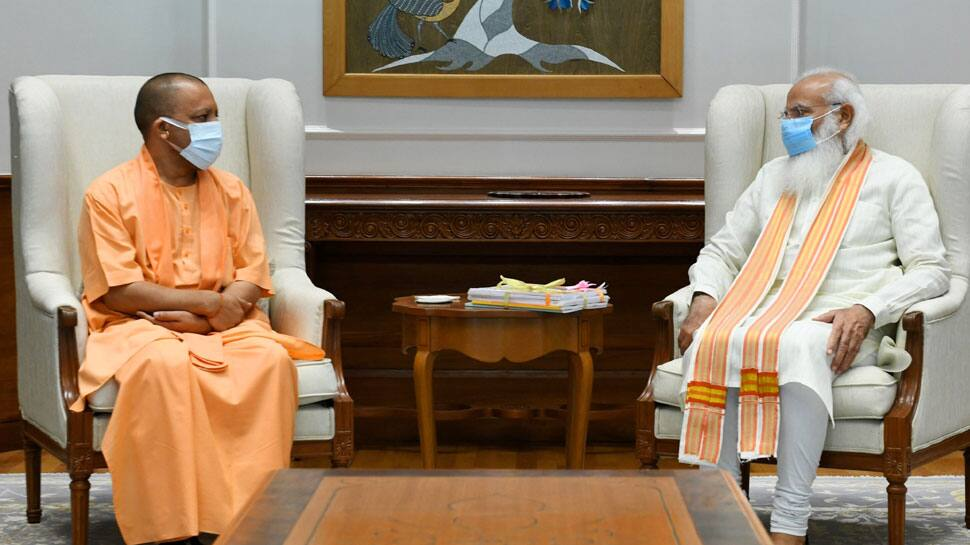 CM Yogi Adityanath meets PM Narendra Modi amid talks of reshuffle in UP govt
