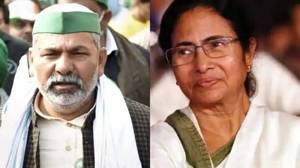 Centre should have opened talks with Bengal farmers: Rakesh Tikait ahead of his meeting with CM Mamata Banerjee