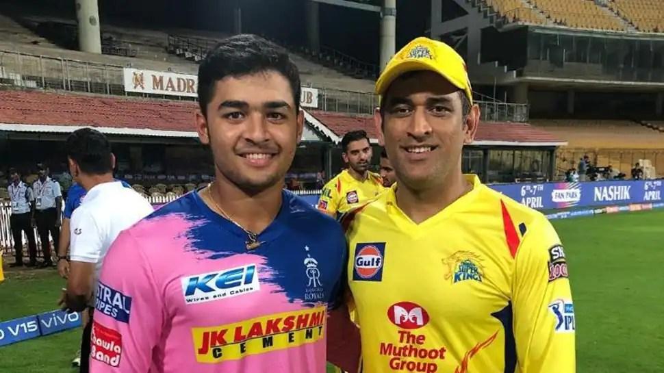 IPL 2021: CSK skipper MS Dhoni and Rajasthan Royals Riyan Parag's long history