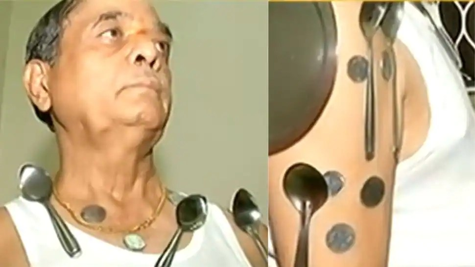 Is COVID vaccine turning you magnetic? Man makes bizarre claim. Check here to know the truth!