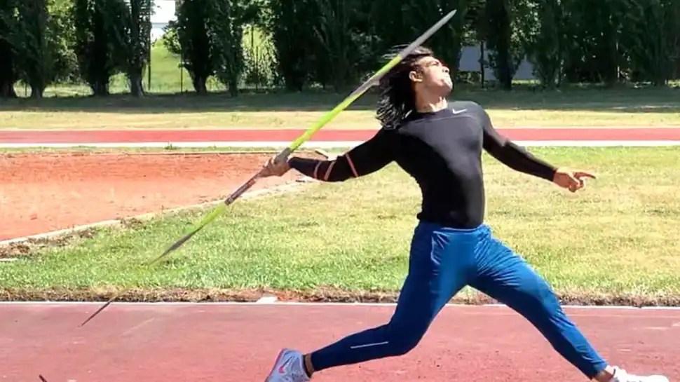 Javelin: Neeraj Chopra throws 83.18m in Lisbon in his first international win ahead of Tokyo Olympics