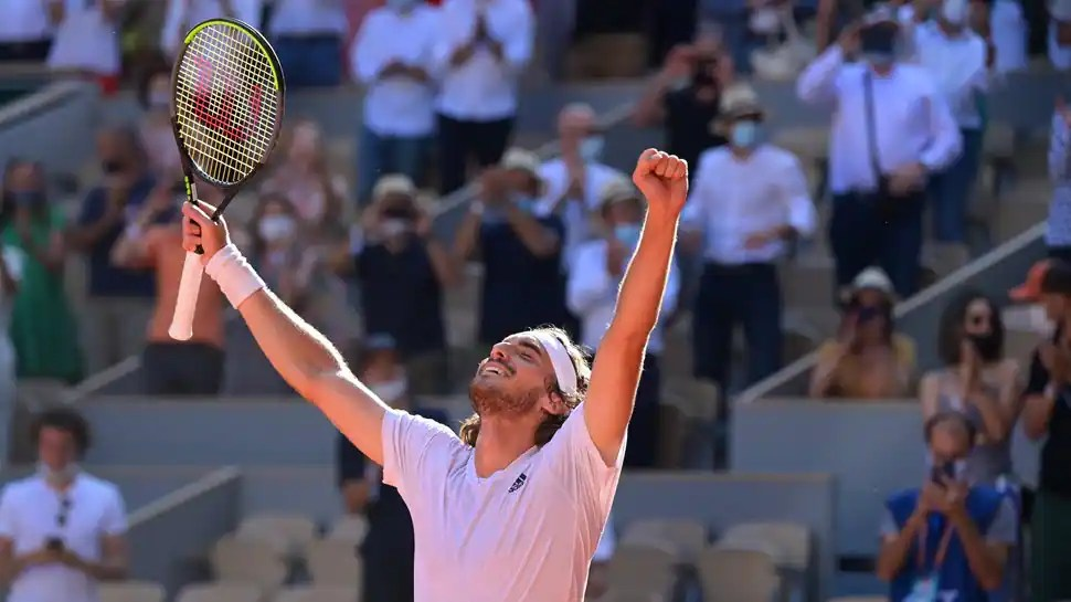 Rafa Nadal or Novak Djokovic, who will Stefanos Tsitsipas play in French Open final?