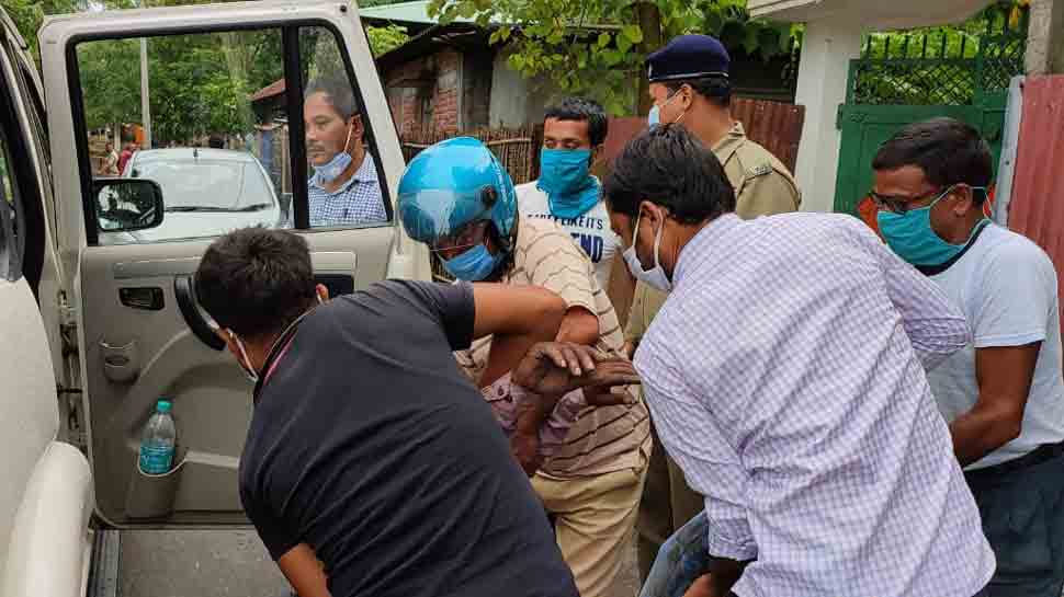 Trinamool Congress goons attacked me, party workers, claims BJP's MP Jayanta Kumar Roy