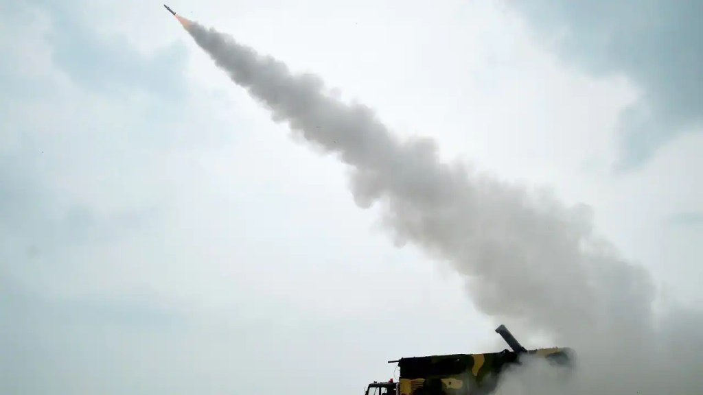 DRDO successfully test-fires new generation Akash surface-to-air missile