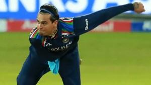 India vs Sri Lanka 2021: Watch Rahul Chahar's fiery send-off to SL's Wanindu Hasaranga