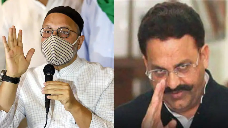 Asaduddin Owaisi's AIMIM offers party ticket to Mukhtar Ansari for UP Assembly elections