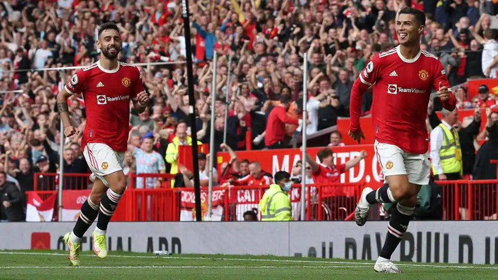 Cristiano Ronaldo punishes Newcastle, leaves Old Trafford delighted with double strike - WATCH