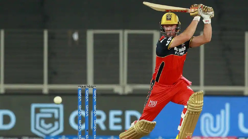 IPL 2021: RCB star AB de Villiers rings warning bells with 46-ball 104 in practice game - WATCH