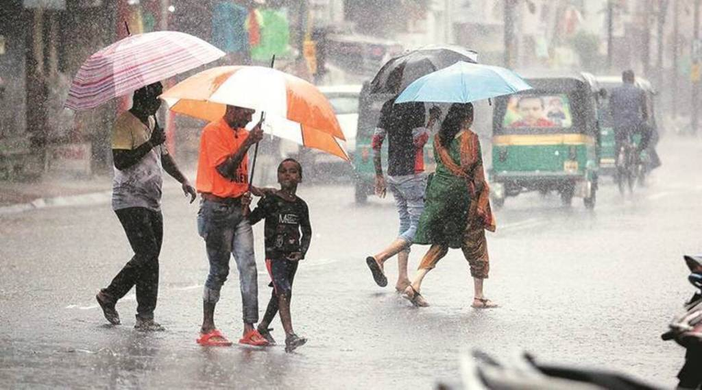 Rain, monsson, depression