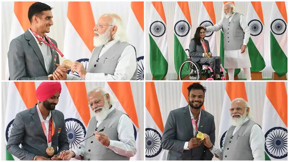 PM Narendra Modi interacts with Paralympic stars, says 'You all are ambassadors of the country'