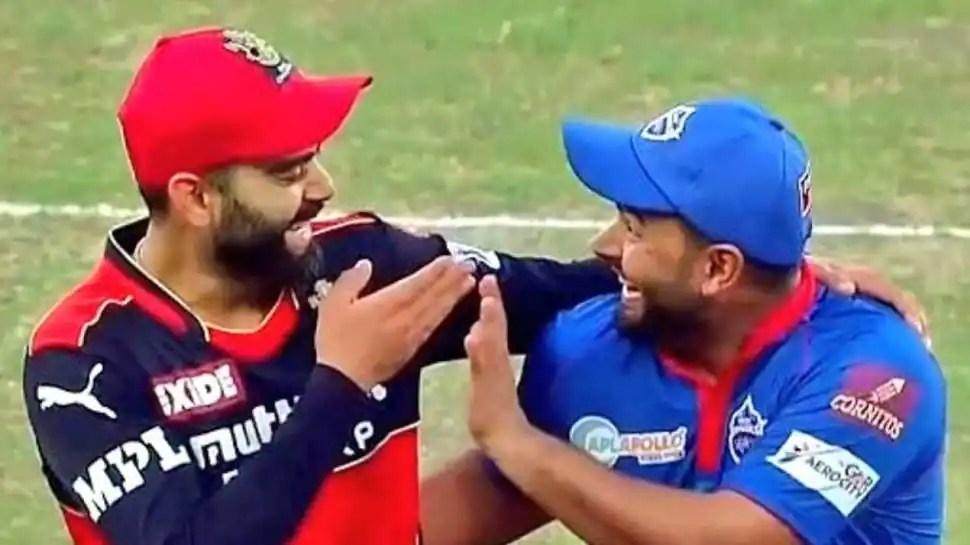 IPL 2021: Rishabh Pant amuses Virat Kohli with 'fake crying' during RCB vs DC - WATCH