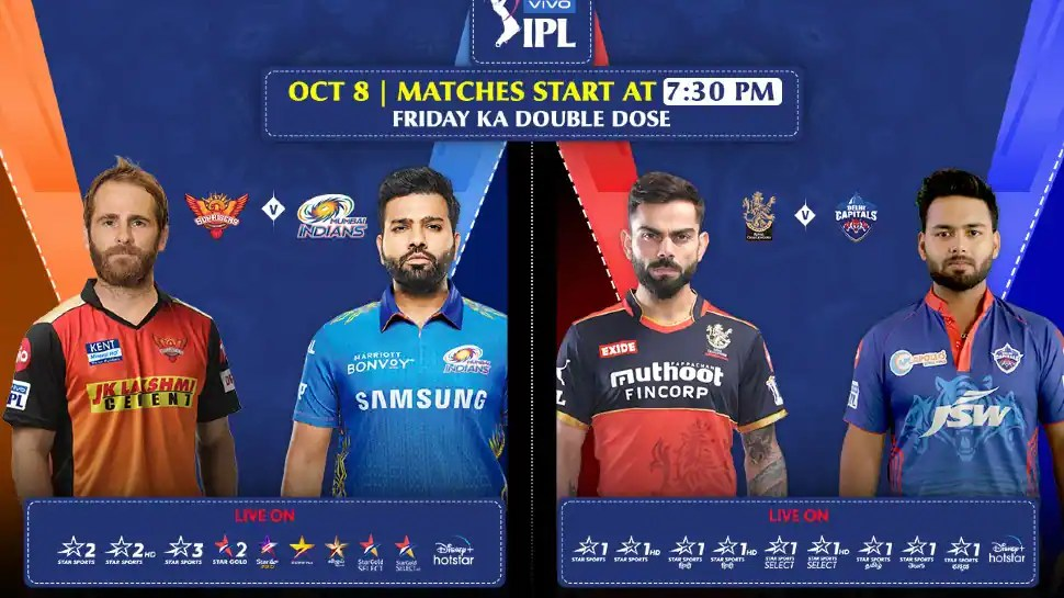 IPL 2021 to witness 4 teams in action together for first time in history as MI face SRH and DC take on RCB