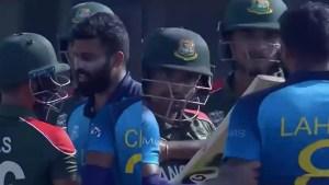 Lahiru Kumara & Liton Das PENALISED after heated verbal exchange during Bangladesh vs Sri Lanka T20 WC match