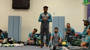 T20 World Cup 2021: Pakistan skipper Babar Azam delivers powerful dressing room speech, says 'no need to go overboard' after historic win - watch