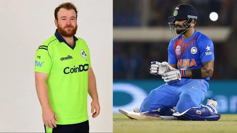 Virat Kohli's massive T20 record broken by Ireland opener Paul Stirling