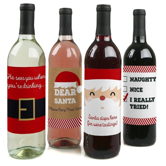 wine labels make the perfect holiday gift