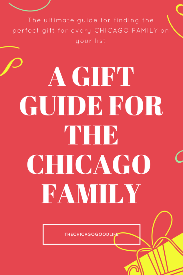 A gift guide for the Chicago family to experience together.