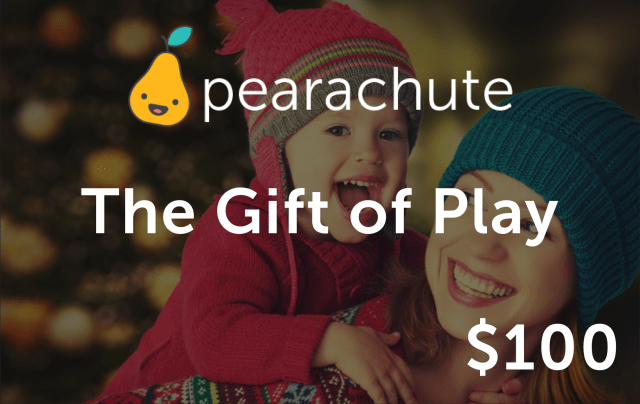 Pearachute makes a great gift for Chicago families to enjoy kids classes throughout the city