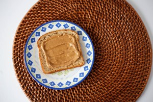 NutMeg Spread's peanut, almond and cashew butter. They donate profits to a charity in Kenya.