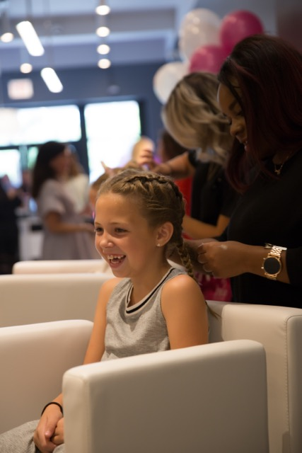 Blo out and Blow Dry on Southport Corridor makes a great holiday gift for moms and daughters