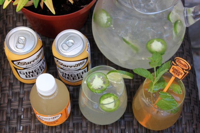 Barritt's Ginger Beer recipe cocktail for summer