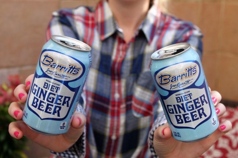 Diet Ginger Beer cocktails