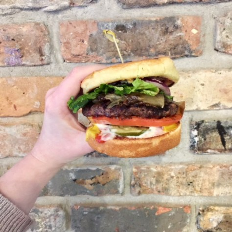 Big Bob and Fritzy's burger Lincoln Park