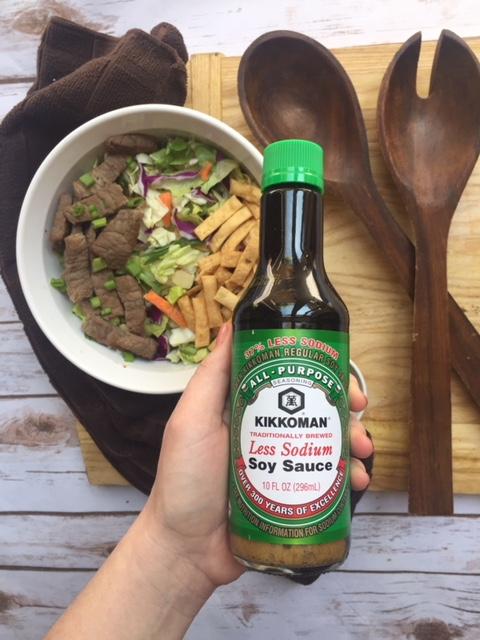 Asian Salad with Steak Marinade recipe