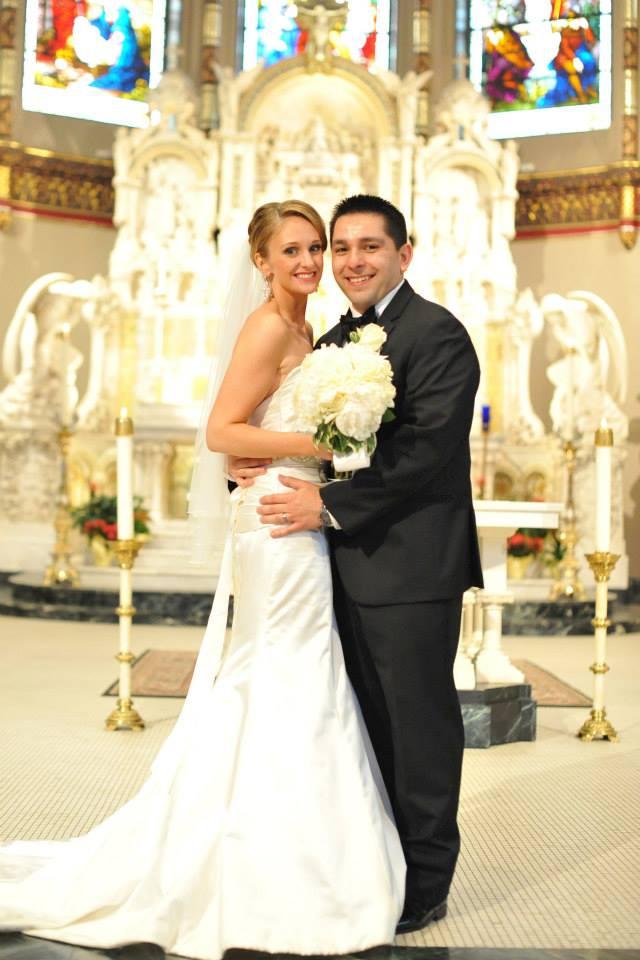 chicago wedding at st. vincent of depaul