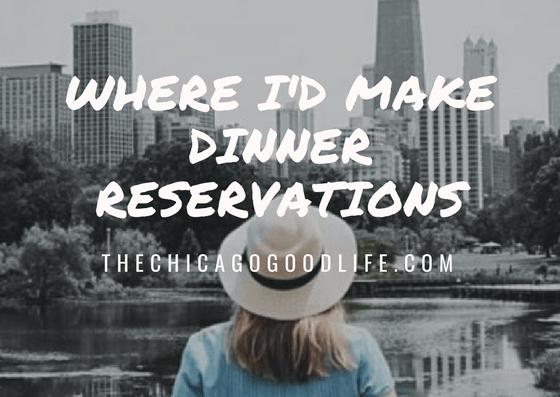 chicago dinner reservations